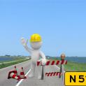 Hoe blijft Marken bereikbaar tijdens reconstructie N 518?